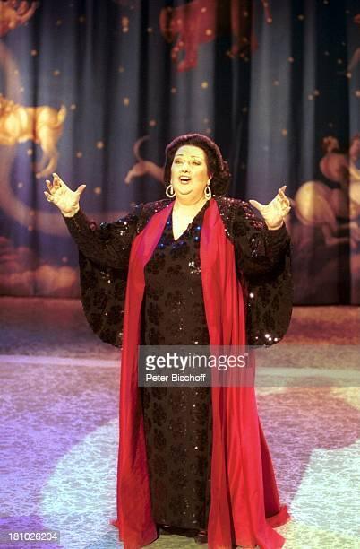Montserrat Caballe Wien sterreich Europa Wiener Stadthalle ZDFShow 'P E T E R A L E X A N D E R Show 1995' Opernsängerin Prominente OpernDiva Auftritt