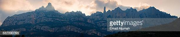 Montserrat Mountain in Catalonia, Spain