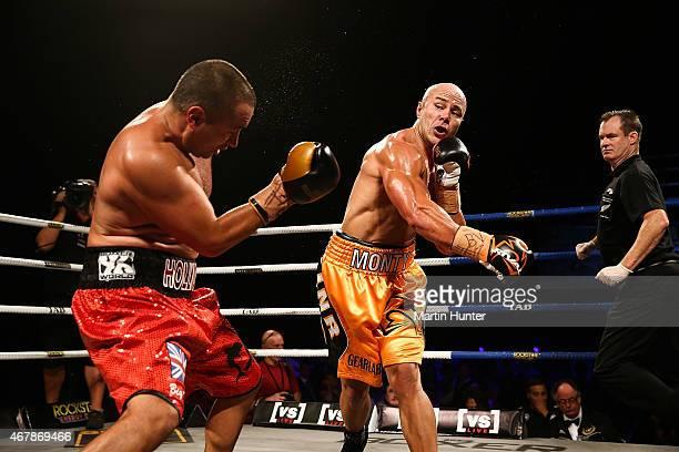 Monty Beethan knocks out Adam Hollioake