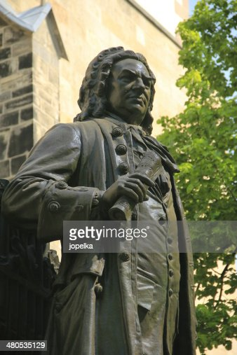 Monument for Johann Sebastian Bach, Leipzig, Germany : Stock Photo