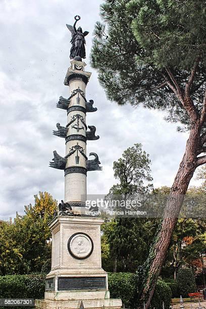 Monument in public gardens