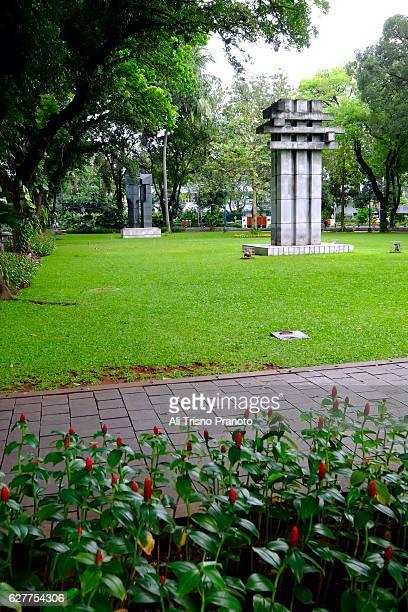 Monument in Surapati Park