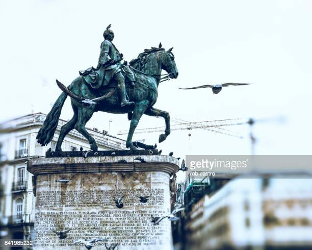 Monument of King Carlos III