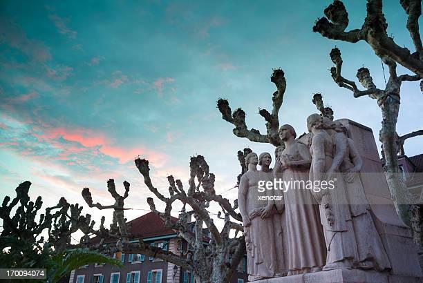 Monument of Old Geneva