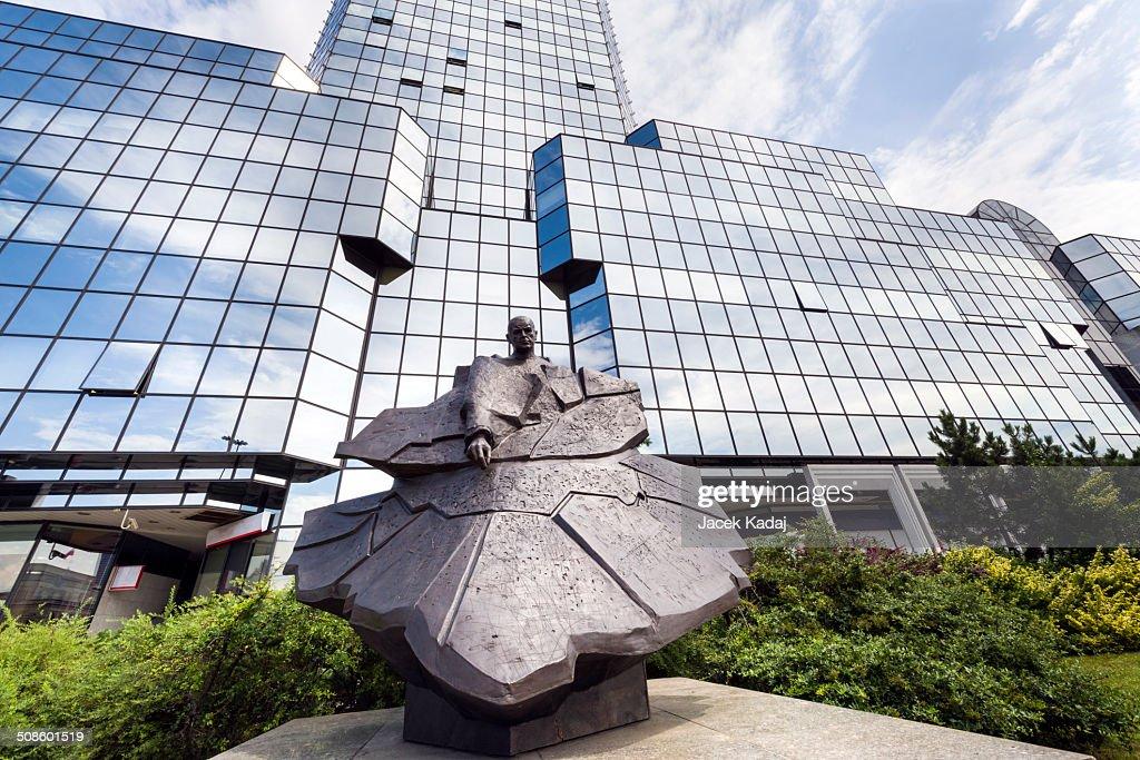 Monument of Stefan Starzynski a Mayor of Warsaw in : Foto de stock