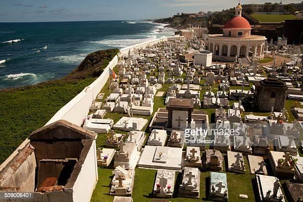 monument to fallen graveyard San Juan Puerto Rico