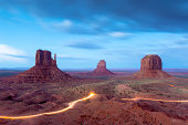 Monument Valley at Dusk, USA