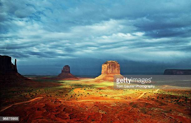 Monument Valley break in the storm