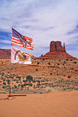Monument Valley flags.