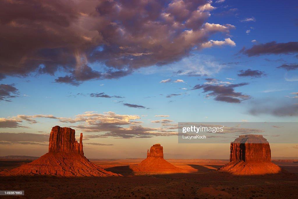 Monument Valley, Navajo Tribal Park, Utah-Arizona : Stock Photo