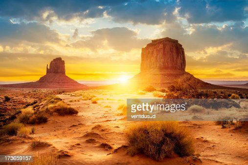 Monument Valley : Stock Photo