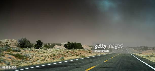 Monument valley road, Kaibito, Arizona, America, USA