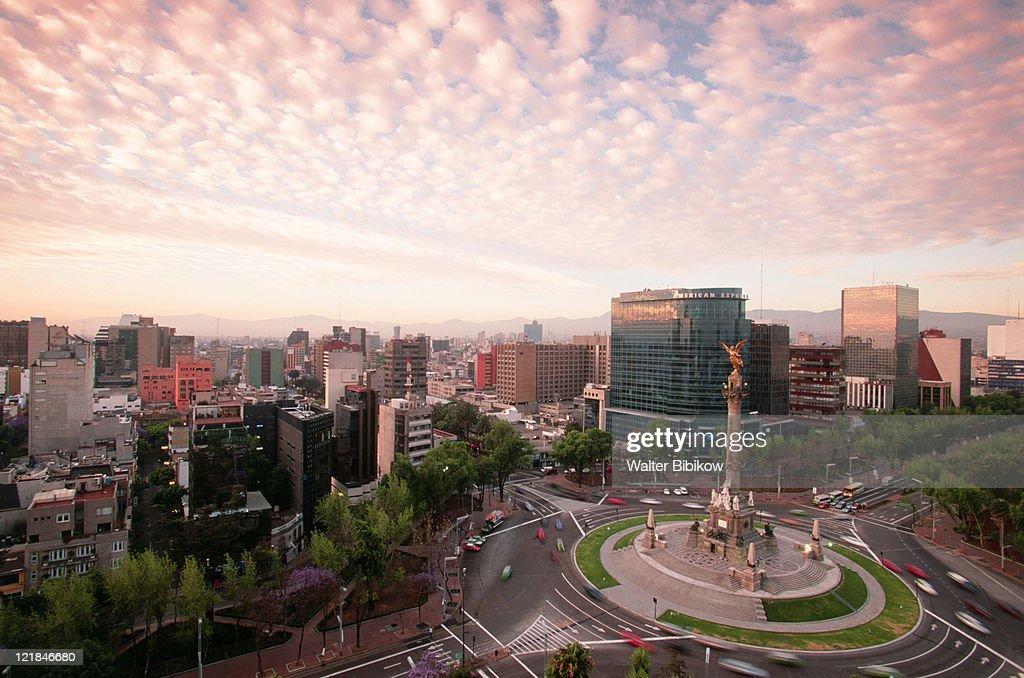 Monumento a la Independencia, Mexico City : Stock Photo