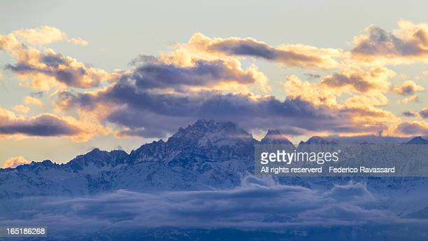 Monviso - East Side from Turin