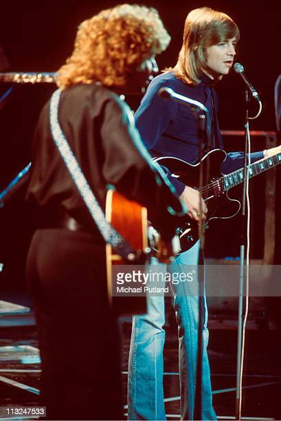 Moody Blues perform on stage London John Lodge Justin Hayward