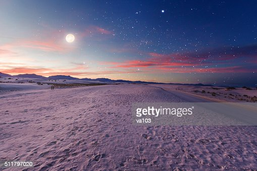 Moon gazers : Stock Photo
