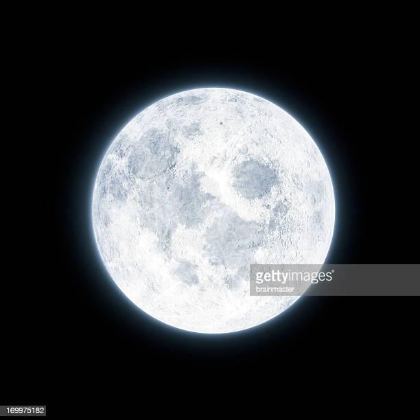 Luna llena brillante