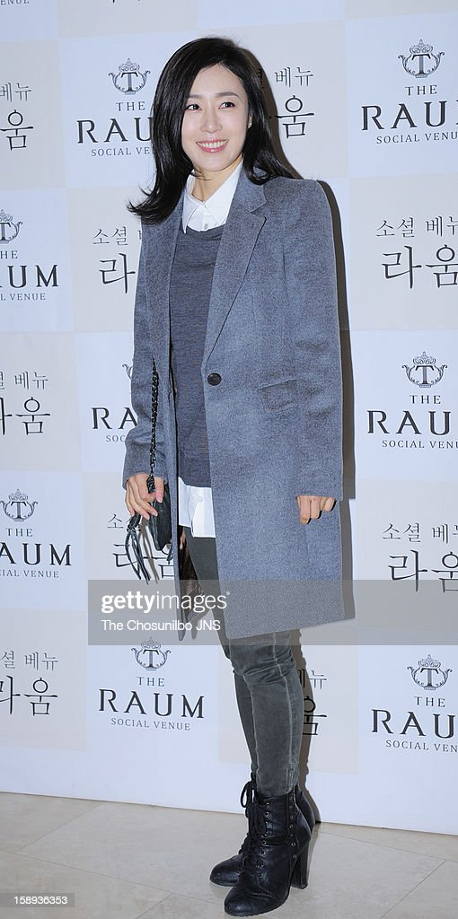 Moon Jung-Hee attends the Seo Do-Young Wedding at the raum on December 22, 2012 in Seoul, South Korea.