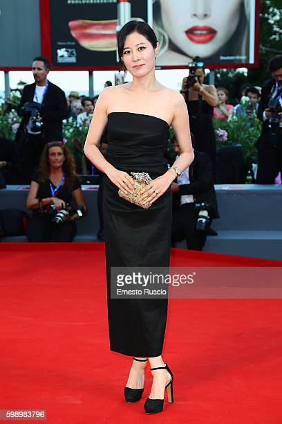 Moon Sori attends the premiere of 'The Young Pope' during the 73rd Venice Film Festival at Palazzo del Casino on September 3 2016 in Venice Italy