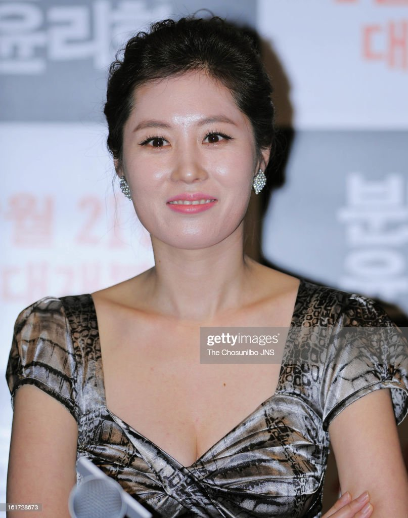 Moon So-Ri attends the 'The Ethics of Anger' Press Conference at Gun Dae Lotte Cinema on February 14, 2013 in Seoul, South Korea.