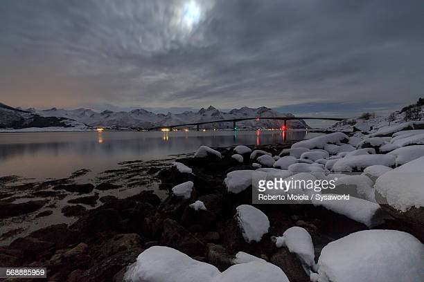 Moonlight in Gymsøyand Norway
