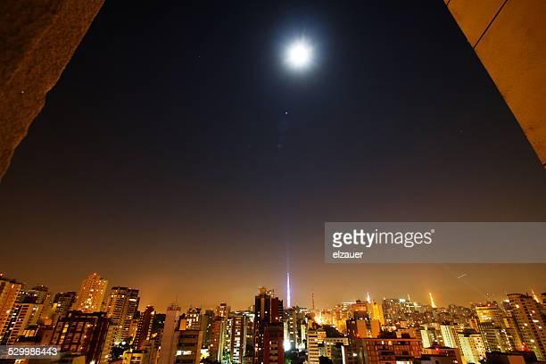 Moonlight in Sao Paulo