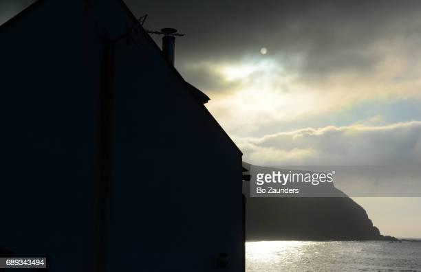 moonlight on Scottish Coast