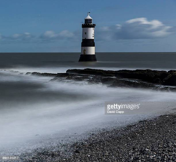 Moonlight, Penmon Lighthouse, Anglesey, Wales