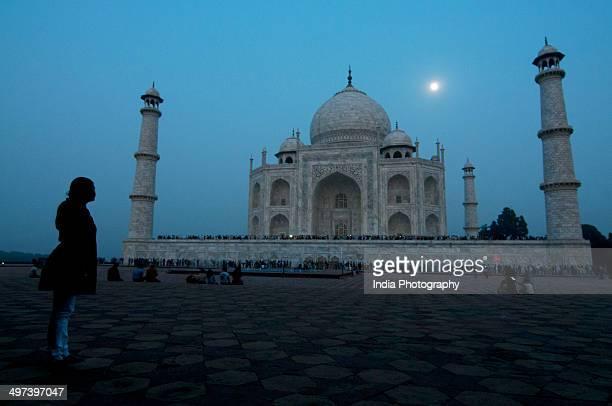 Moonlit Taj Mahal