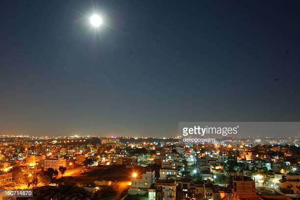 Moonrise over Bangalore
