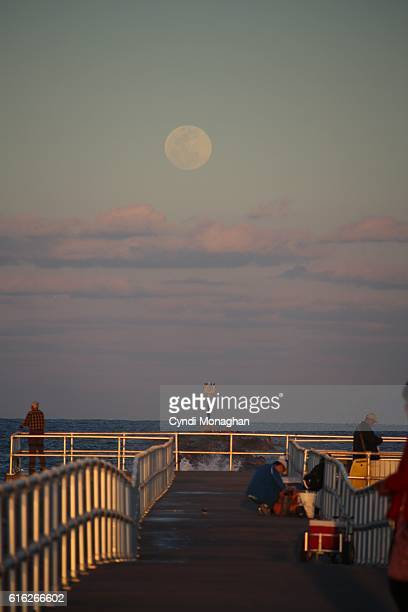 Moonrise over Jetty