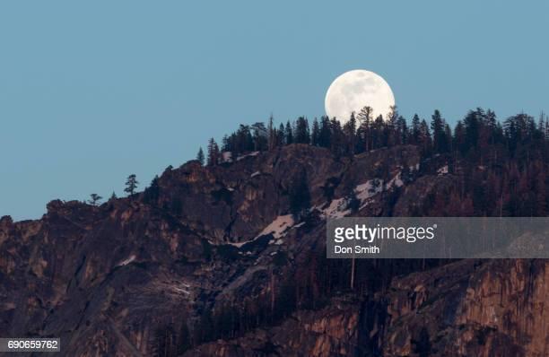 Moonrise Over Sentinnel Rock