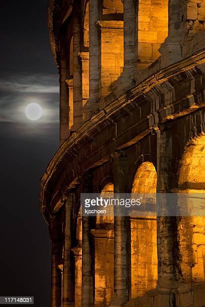 Moonrise over the Coliseum