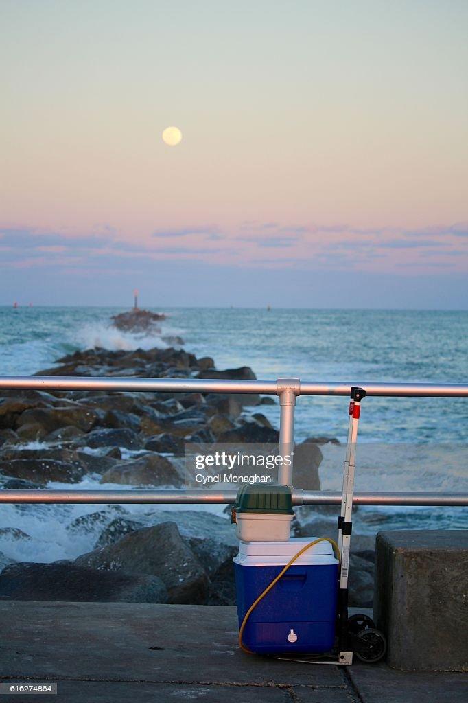Moonrise : Stock Photo