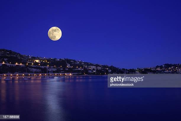 Moonshine de la mer calme