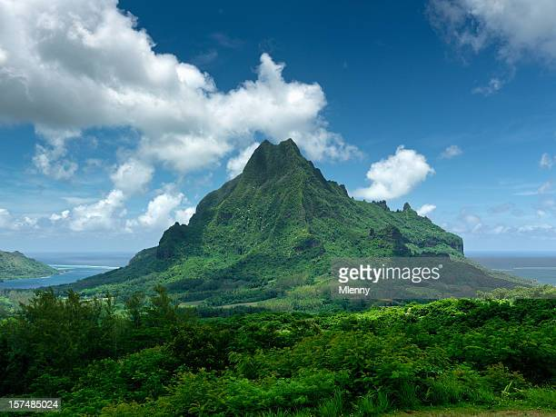 Moorea Island Mount Roto Nui Volcanic Mountain Le Belvedere Lookout