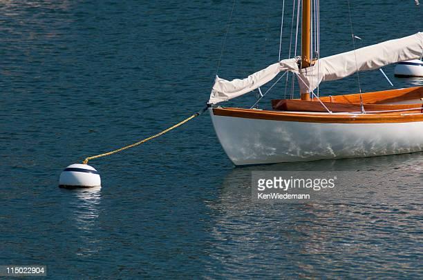 Moored Sailboat
