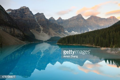 Moraine Lake, Sunrise