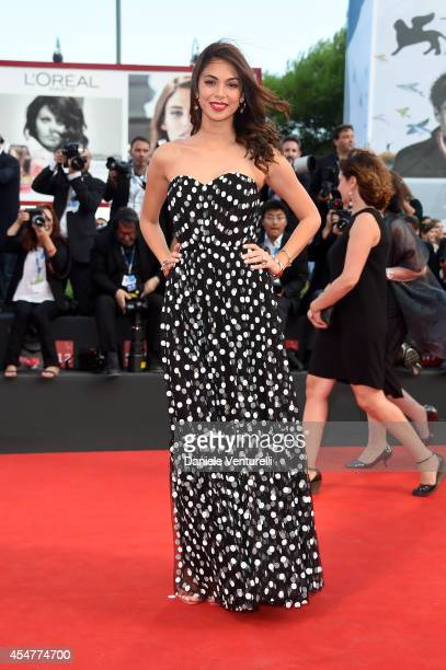 Moran Atias attends the Closing Ceremony during the 71st Venice Film Festival at Sala Grande on September 6 2014 in Venice Italy