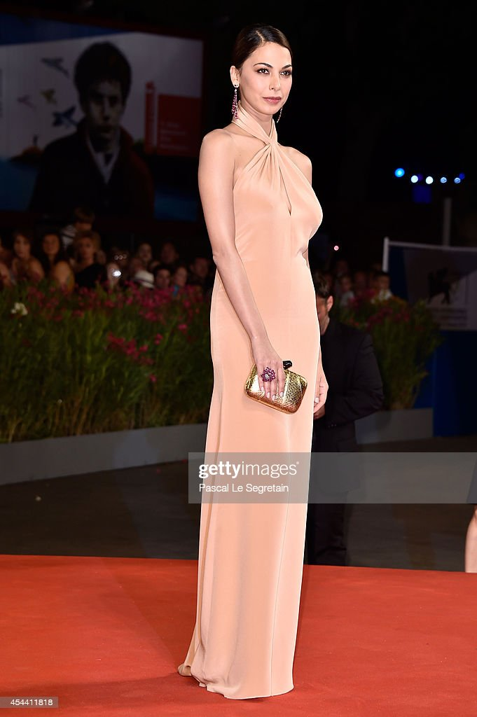 <a gi-track='captionPersonalityLinkClicked' href=/galleries/search?phrase=Moran+Atias&family=editorial&specificpeople=3964520 ng-click='$event.stopPropagation()'>Moran Atias</a> attends 'The Humbling' premiere during the 71st Venice Film Festival on August 30, 2014 in Venice, Italy.