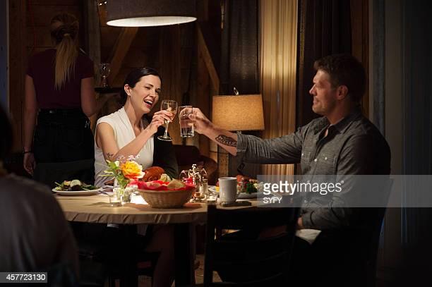 HAVEN 'Morbitidy' Episode 509 Pictured Laura Mennell as Dr Erin Reid Adam Copeland as Dwight Hendrickson