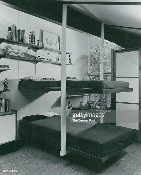 1964 MAY 24 1964 More beds in less space Children just naturally love to climb so there¼l be no problem In finding a boy to climb up to the top bunk...