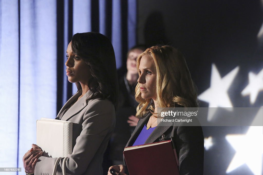 SCANDAL - 'More Cattle, Less Bull' -The team investigates Democratic Congresswoman Josie Marcus, while Olivia and Mellie have a surprising run-in during the White House Correspondents' Dinner. Meanwhile, Jake and Huck get closer to the truth about Operation Remington, which could lead to devastating results, on ABC's 'Scandal,' THURSDAY, OCTOBER 31 (10:00-11:00 p.m., ET) on the ABC Television Network. PRESSMAN