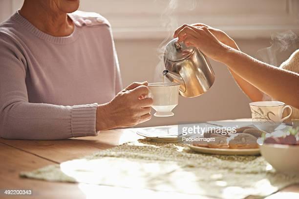 En plus du thé ?
