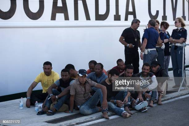 More than 1200 migrants coming from Congo Ghana Guinea Nigeria Mali Sudan Bangladesh Cameroon Gambia Niger Senegal and Pakistan landed in Italy at...