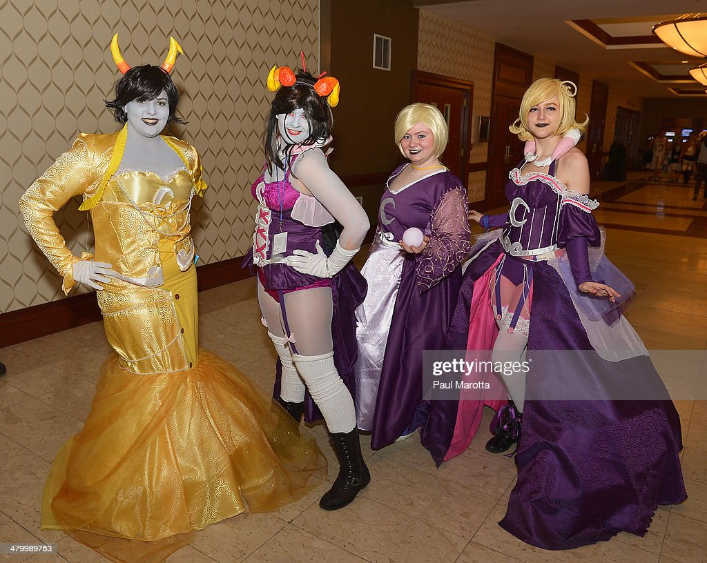 More than 22,000 people attend the Anime Boston 2014 Convention at Hynes Convention Center on March 21, 2014 in Boston, Massachusetts.