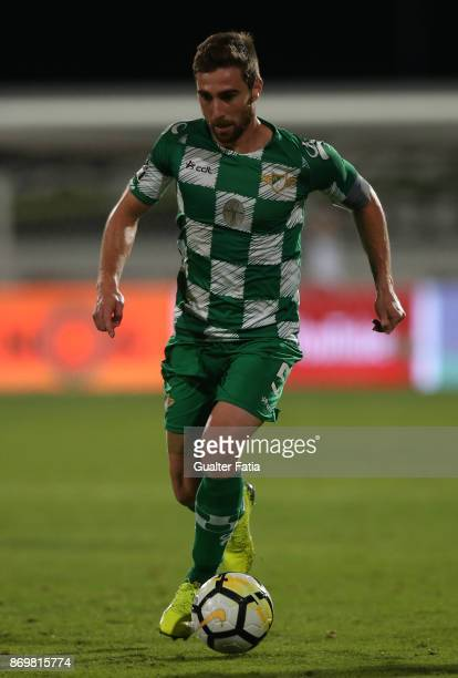 Moreirense FC defender Ruben Lima from Portugal in action during the Primeira Liga match between CF Os Belenenses and Moreirense FC at Estadio do...