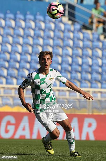Moreirense«s midfielder Francisco Geraldes in action during the Primeira Liga match between GD Estoril Praia and Moreirense FC at Estadio Antonio...