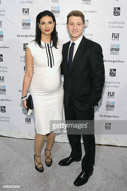 Morena Baccarin and Ben McKenzie attend the 2015 Gotham Independent Film Awards at Cipriani Wall Street on November 30 2015 in New York City