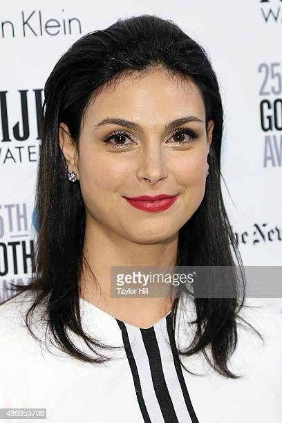 Morena Baccarin attends the 2015 Gotham Independent Film Awards at Cipriani Wall Street on November 30 2015 in New York City